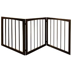 Woof Wooden Pet Gate