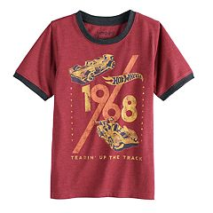 Boys 4-10 Jumping Beans® Retro Hot Wheels '1968 Tearin' Up The Track' Ringer Graphic Tee