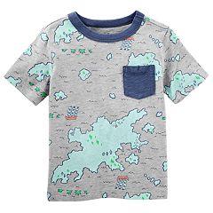 Toddler Boy OshKosh B'gosh® Map Graphic Pocket Tee