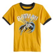 Boys 4-12 Jumping Beans® Retro DC Comics Batman Ringer Graphic Tee