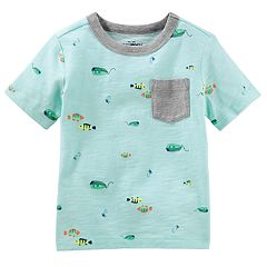 Toddler Boy OshKosh B'gosh® Fish Graphic Pocket Tee