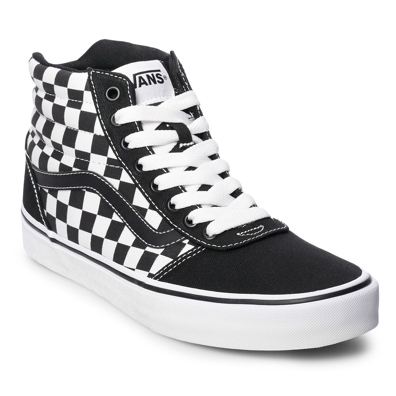 vans checkerboard hi
