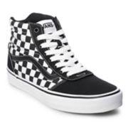Vans Ward Hi Checkerboard Men's Skate Shoes