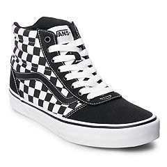 f374e094a554 Vans Ward Hi Checkerboard Men s Skate Shoes