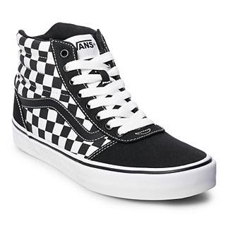 609b5788 Vans Ward Hi Checkerboard Men's Skate Shoes