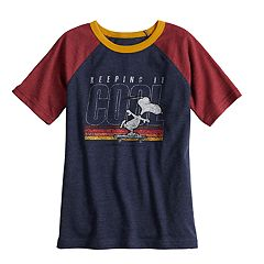 Boys 4-10 Jumping Beans® Snoopy 'Keeping It Cool' Tee