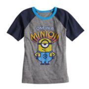 "Boys 4-10 Jumping Beans® ""Once in a Minion"" Graphic Tee"