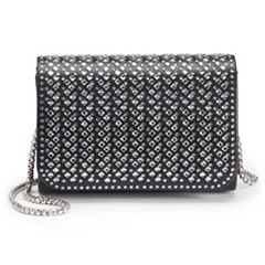 Lenore by La Regale Crystal Pattern Mini Crossbody