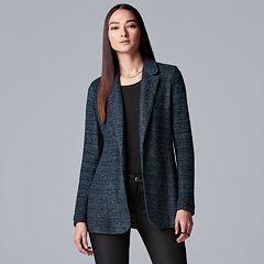 Women's Simply Vera Vera Wang Marled Blazer