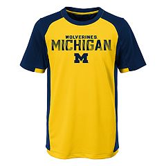 Boys 8-20 Michigan Wolverines Circuit Breaker Tee