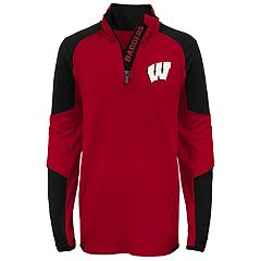 Boys 8-20 Wisconsin Badgers Beta Performance Pullover