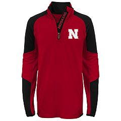 Boys 8-20 Nebraska Cornhuskers Beta Performance Pullover