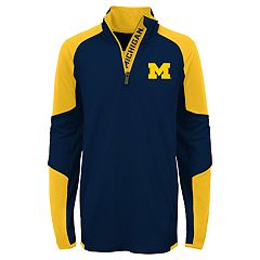 Boys 8-20 Michigan Wolverines Beta Performance Pullover