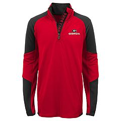 Boys 8-20 Georgia Bulldogs Beta Performance Pullover