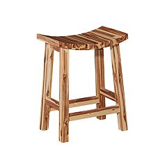 Powell Dale Saddle Counter Stool