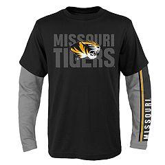 Boys 8-20 Missouri Tigers Playmaker Tee Set