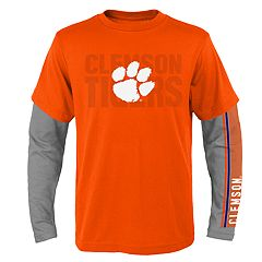 Boys 8-20 Clemson Tigers Playmaker Tee Set