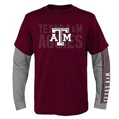 Boys 8-20 Texas A&M Aggies Playmaker Tee Set