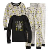 Boys 4-14 Carter's Is It The Weekend Yet 4-Piece Pajama Set