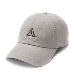 Harry Potter Embroidered Deathly Hallows Baseball Cap