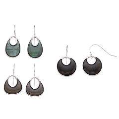 Nickel Free Teardrop Earring Set