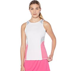 Women's Grand Slam Heathered Racerback Tennis Tank