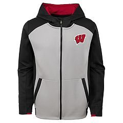 Boys 8-20 Wisconsin Badgers Hi-Tech Hoodie