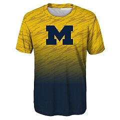 Boys 8-20 Michigan Wolverines Propulsion Tee