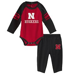 Baby Nebraska Cornhuskers Future Starter Bodysuit & Pants Set
