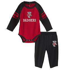Baby Wisconsin Badgers Future Starter Bodysuit & Pants Set