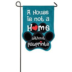 Paw Prints Indoor / Outdoor Garden Flag