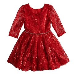 Girls 4-6x Knitworks Lace Dress
