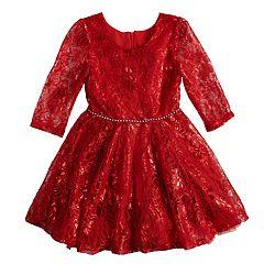 Girls 4-6x Knitworks Lace Dress