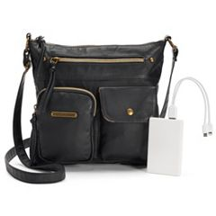 Stone & Co. Plugged In Phone Charging Utility Crossbody Bag