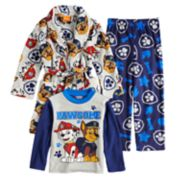 Boys 4-8 Paw Patrol 3-Piece Fleece Pajama Set