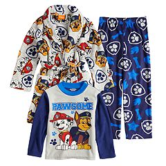 Boys 4-8 Paw Patrol 3-Piece Fleece Pajama Set