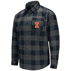e34597aa5de Men's Illinois Fighting Illini Plaid Flannel Shirt
