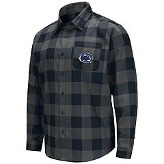 Men's Penn State Nittany Lions Plaid Flannel Shirt