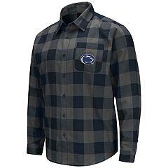Men's Penn State Nittany Lions Plaid Flannel Shirt