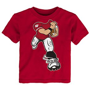 Toddler Wisconsin Badgers Yard Rush Tee