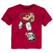 Toddler Alabama Crimson Tide Yard Rush Tee