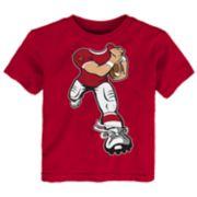Toddler Louisville Cardinals Yard Rush Tee