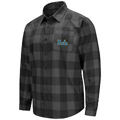 Men's UCLA Bruins Plaid Flannel Shirt