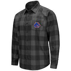 Men's Boise State Broncos Plaid Flannel Shirt