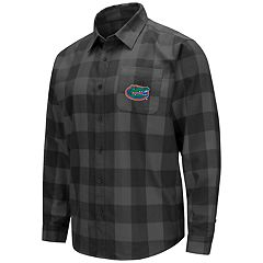 Men's Florida Gators Plaid Flannel Shirt