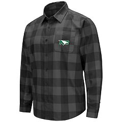 Men's North Dakota Fighting Hawks Plaid Flannel Shirt