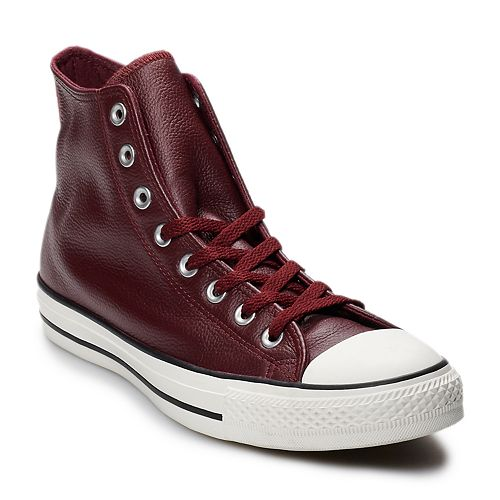 Men s Converse Chuck Taylor All Star Leather High Top Shoes 46fe1aa4a