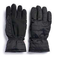 Men's Apt. 9®  Packable Quilted Touchscreen Gloves