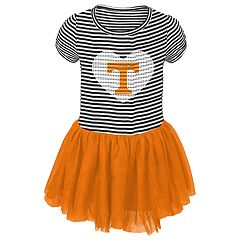 Toddler Girl Tennessee Volunteers Sequin Tutu Dress
