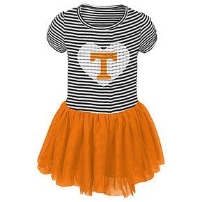 Toddler Girl Tennessee Volunteers Sequin Tutu Dress